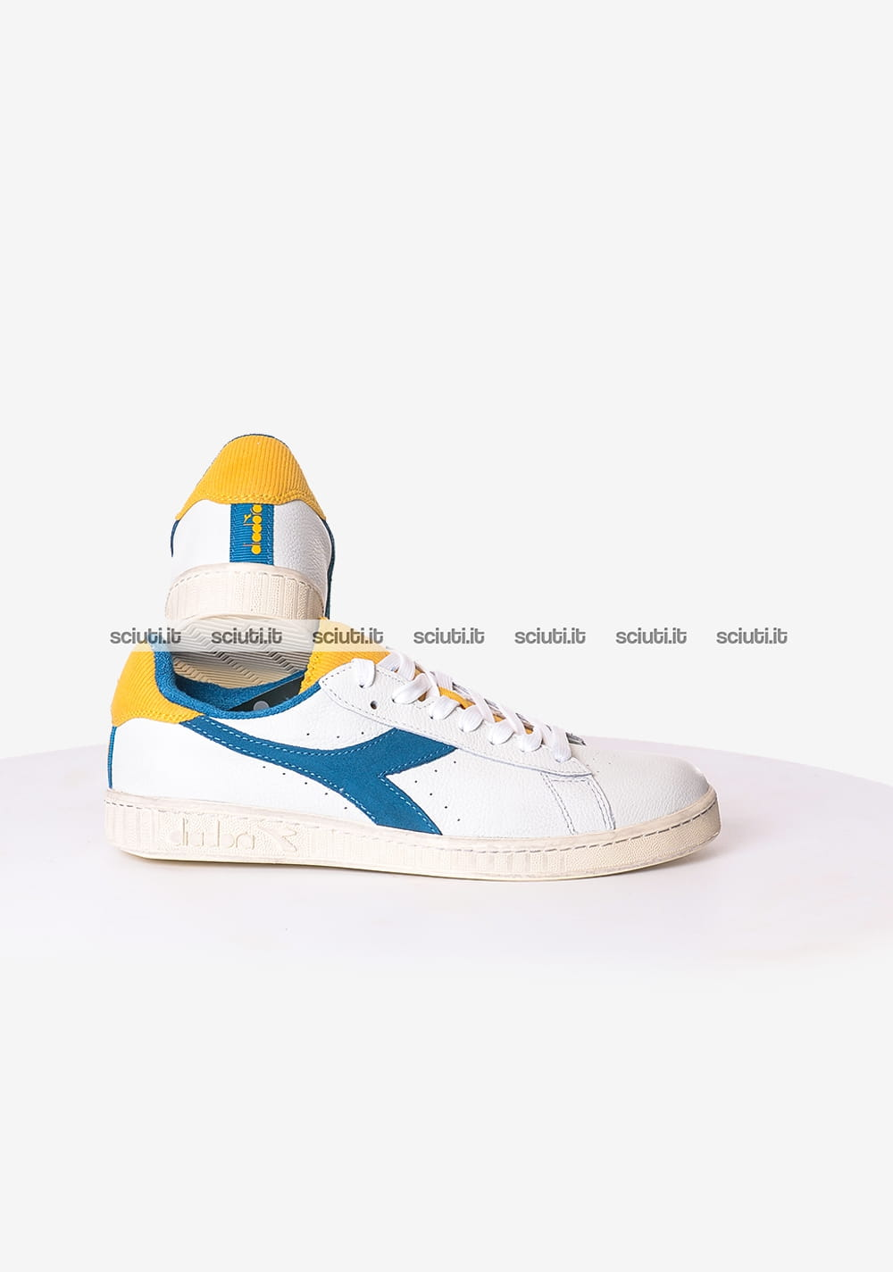 Garanzia di qualità al 100% come ottenere stile di moda del 2019 Scarpe Diadora uomo Game L Low Used bianco blu | Sciuti.it