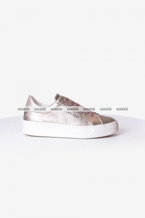 Scarpe Crime London donna Sonic rose platinum