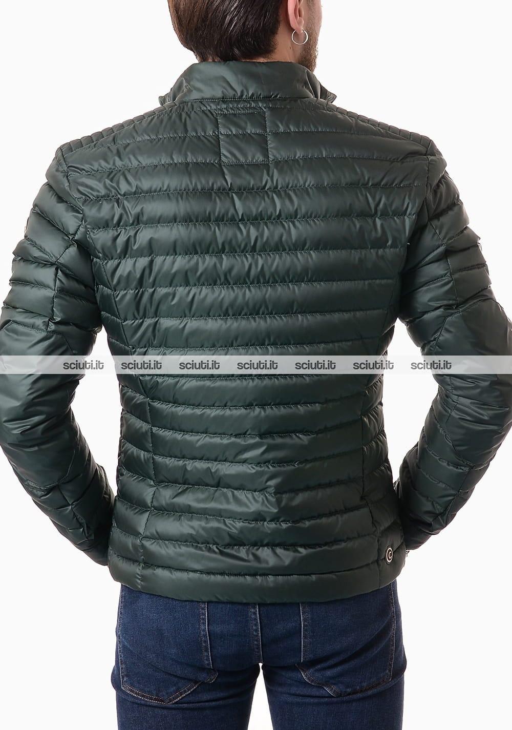 factory price 90061 c5896 Piumino Colmar uomo leggero modello biker senza cappuccio verde scuro