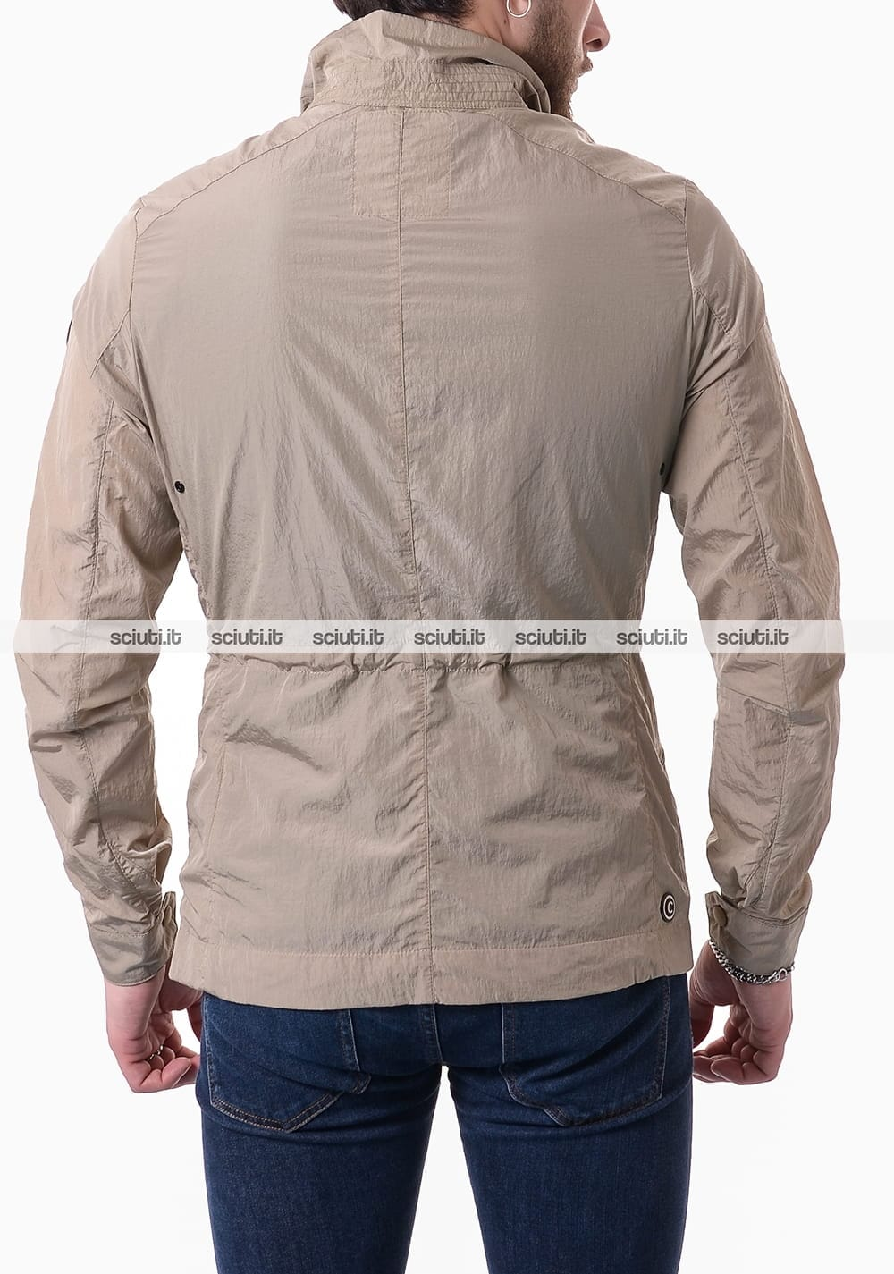 Giacca Colmar uomo field jacket packable beige