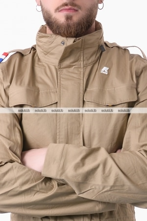 Giacca Kway uomo Manfield light cotton beige