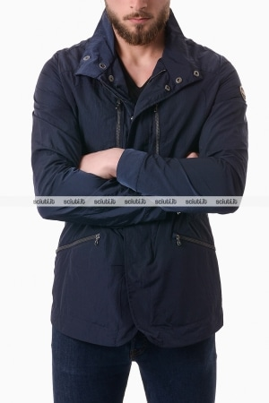 Giacca Colmar uomo field jacket packable blu
