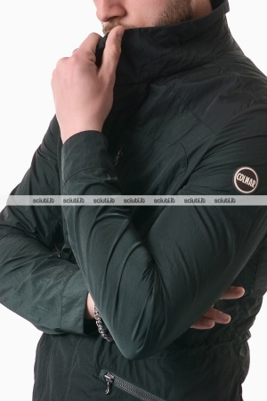 Giacca Colmar uomo field jacket packable verde scuro