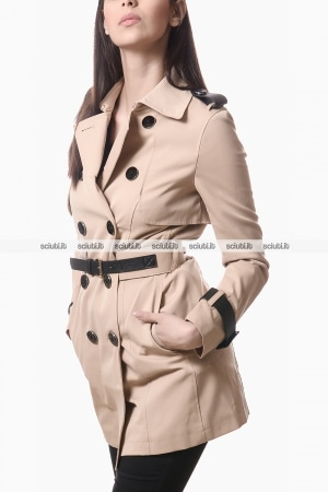 Trench Guess donna con cintura beige