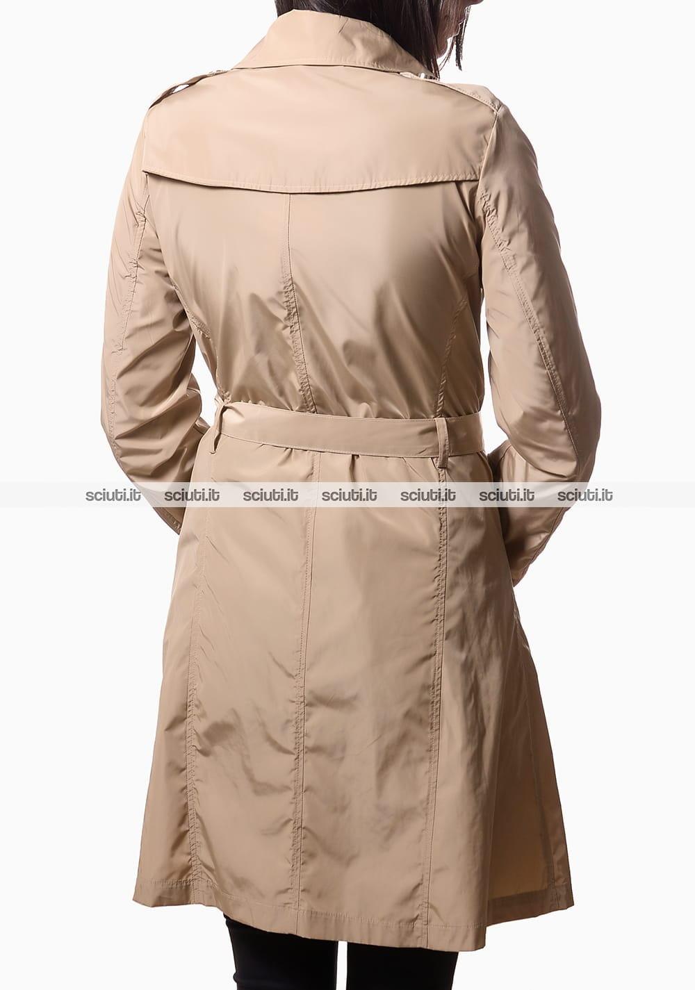 finest selection 6103a c4868 Trench Liu Jo donna con chiusura asimmetrica beige | Sciuti.it