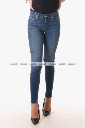 Jeans Liu Jo donna bottom up Divine vita alta