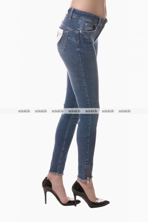 Jeans Liu Jo donna bottom up Easy con zip