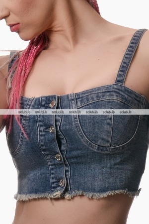 Top Liu Jo donna Nymphea denim