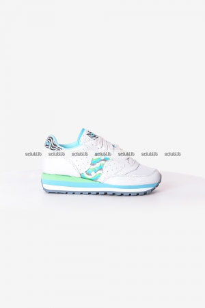 Scarpe Saucony donna Jazz Triple bianco blu verde Limited Edition