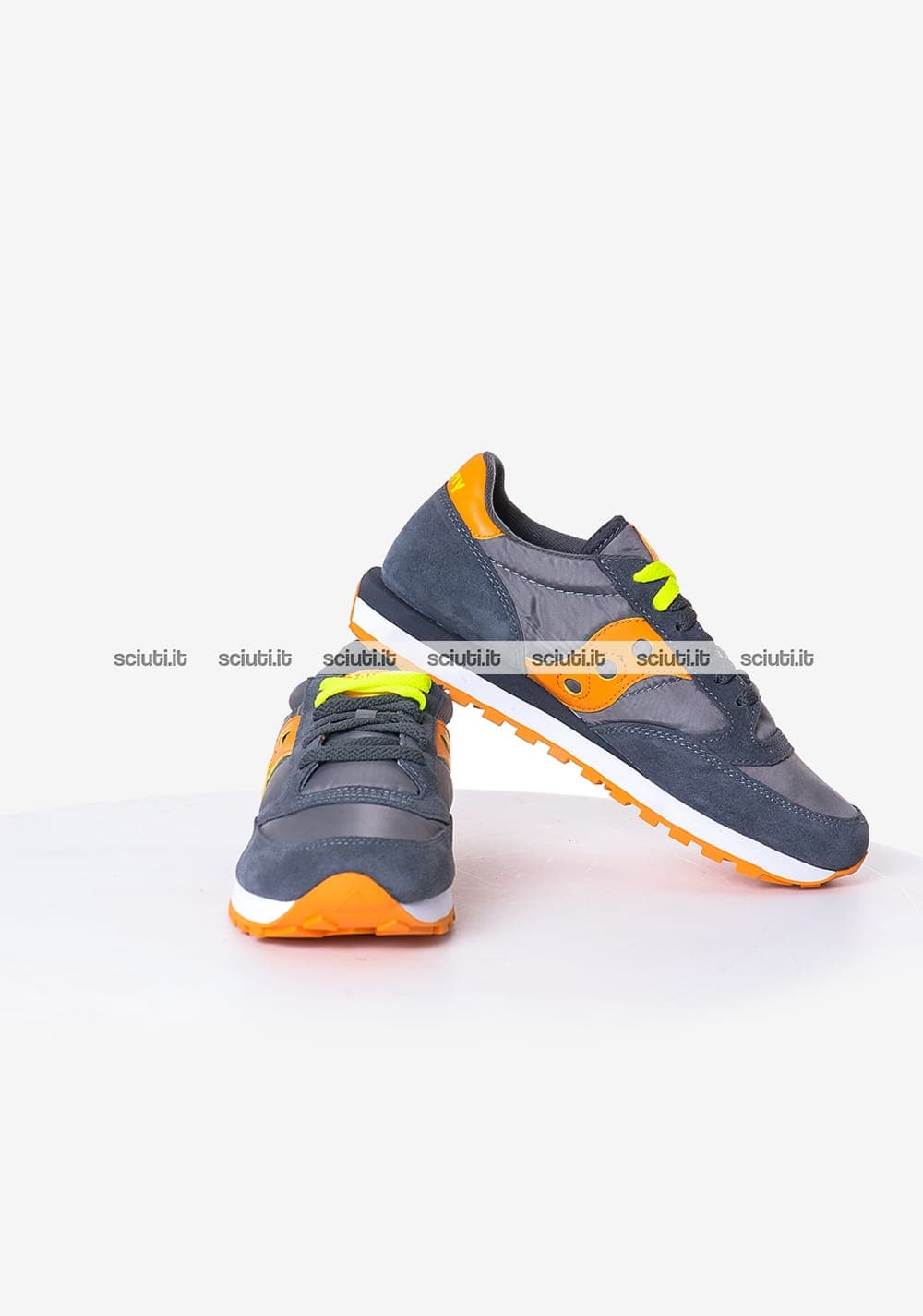 Scarpe Saucony uomo Jazz grigio scuro arancione | Sciuti.it