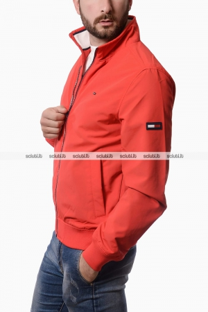 Giubbotto Tommy Hilfiger uomo bomber rosso