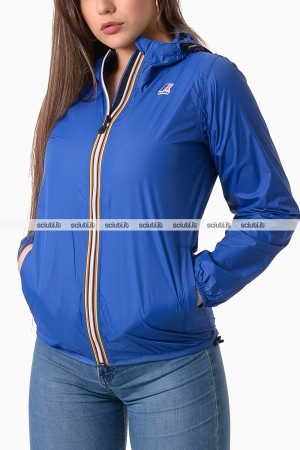 Giubbotto Kway donna Le Vrai 3.0 Claudette blu royal