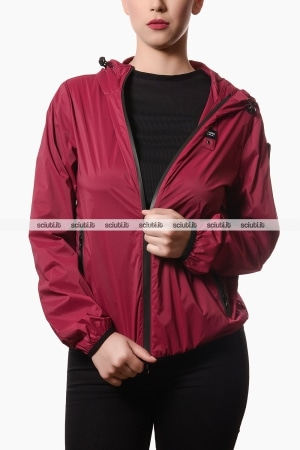 Giubbotto Blauer donna Ross in nylon bordeaux