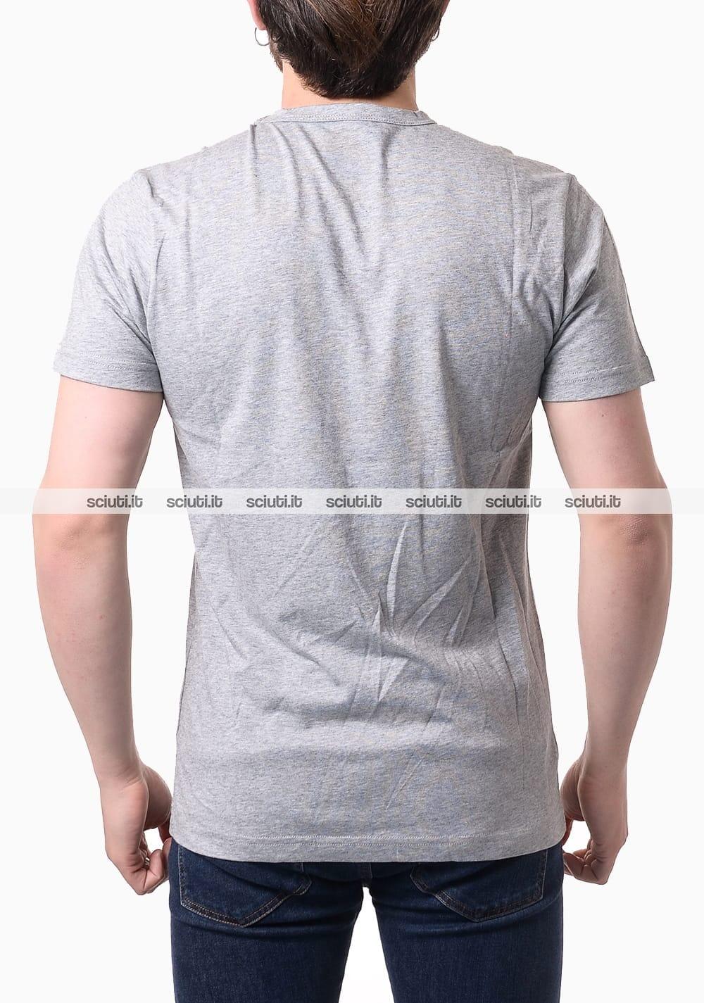 Tshirt Colmar uomo logo gommato grigio