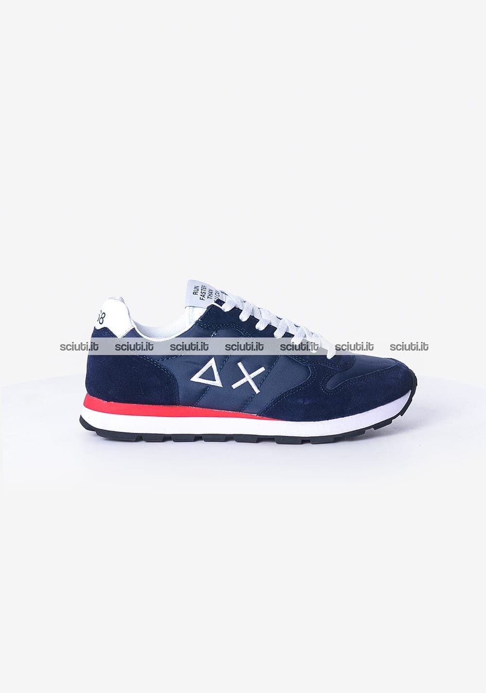 Scarpe Sun68 uomo Tom solid nylon blu navy | Sciuti.it