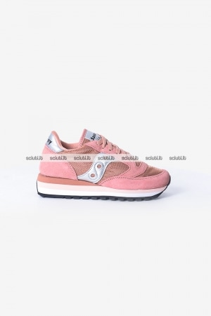 Scarpe Saucony donna Jazz Triple Limited Edition rosa argento