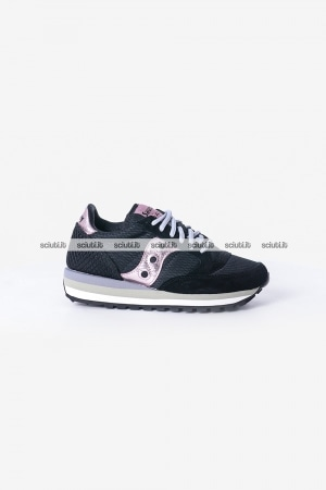 Scarpe Saucony donna Jazz Triple Limited Edition nero rosa