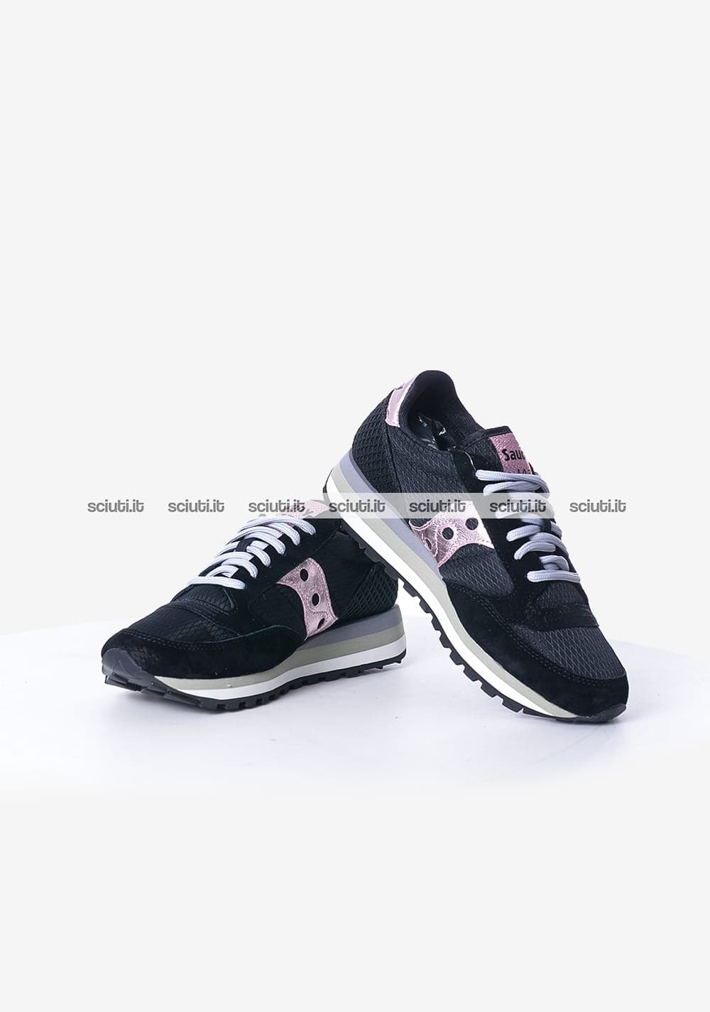 best website b764f f0f28 Scarpe Saucony donna Jazz Triple Limited Edition nero rosa ...