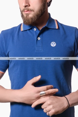 Polo North Sails uomo heritage blu