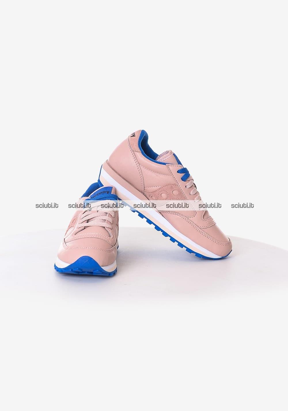 Scarpe Saucony donna Triple Limited Edition rosa blu | Sciuti.it