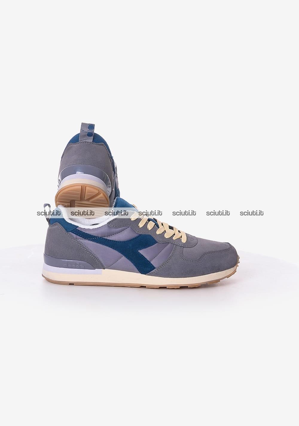 Scarpe Diadora uomo Camaro Used grigio blu