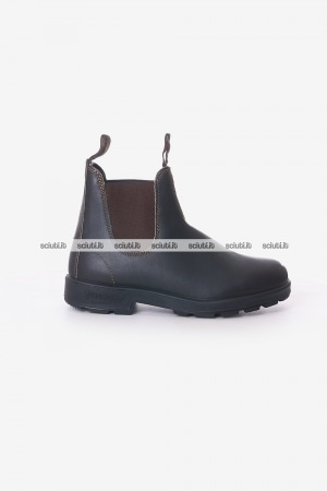 Stivaletto Blundstone uomo marrone scuro in pelle