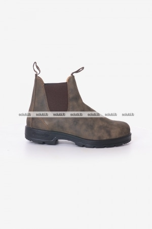 Stivaletto Blundstone uomo marrone in pelle