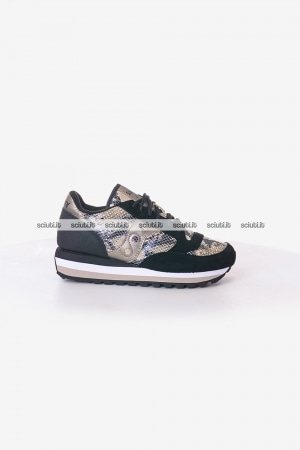 Scarpe Saucony donna Triple Limited Edition nero oro
