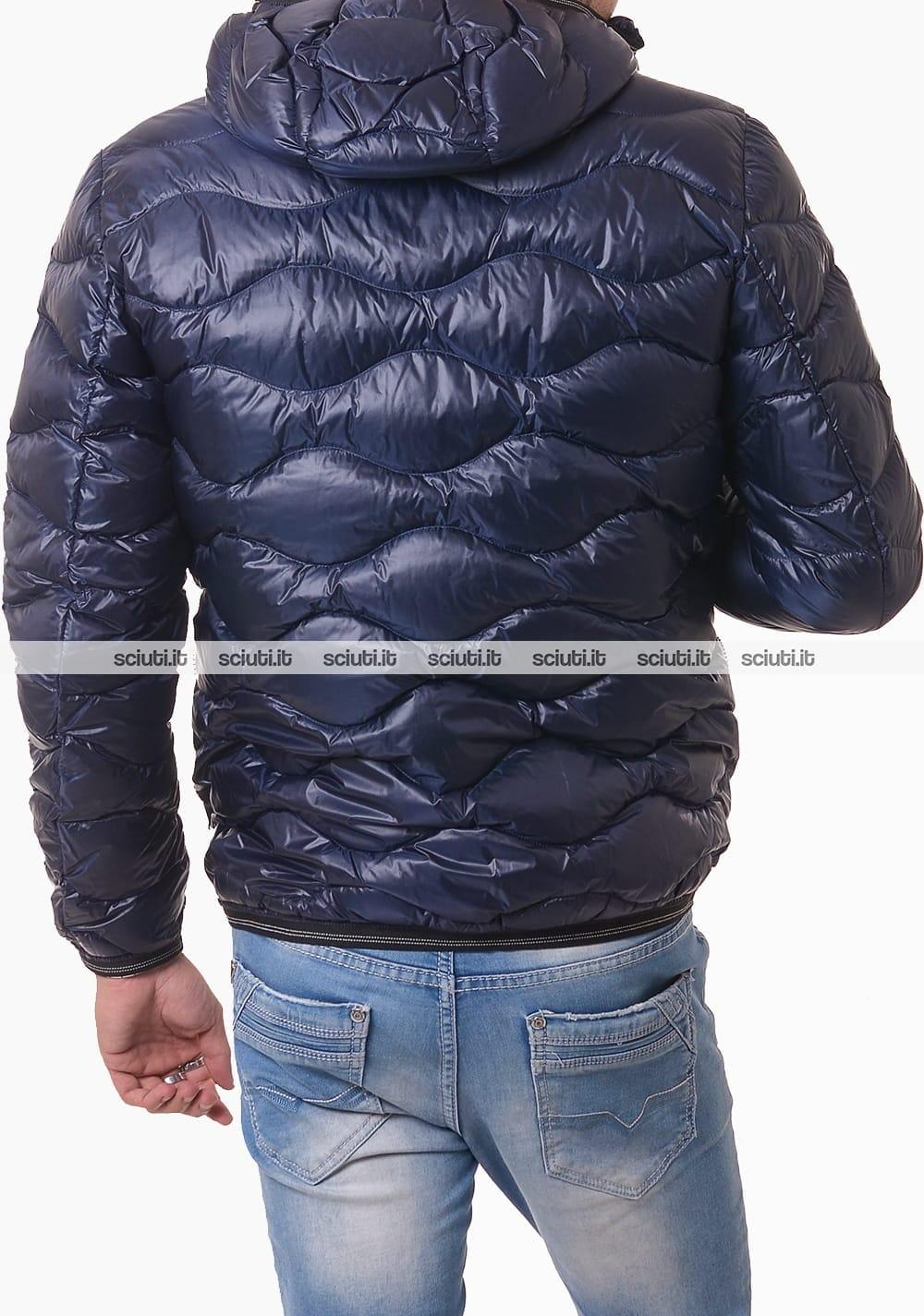 rieacb76d cappuccio piumino con blauer smanicato giacche
