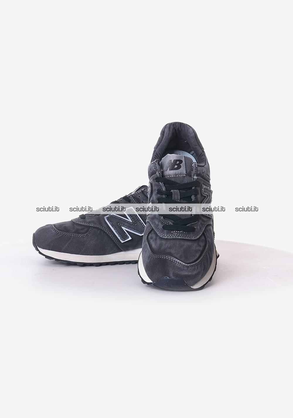 new balance 574 grigio scuro