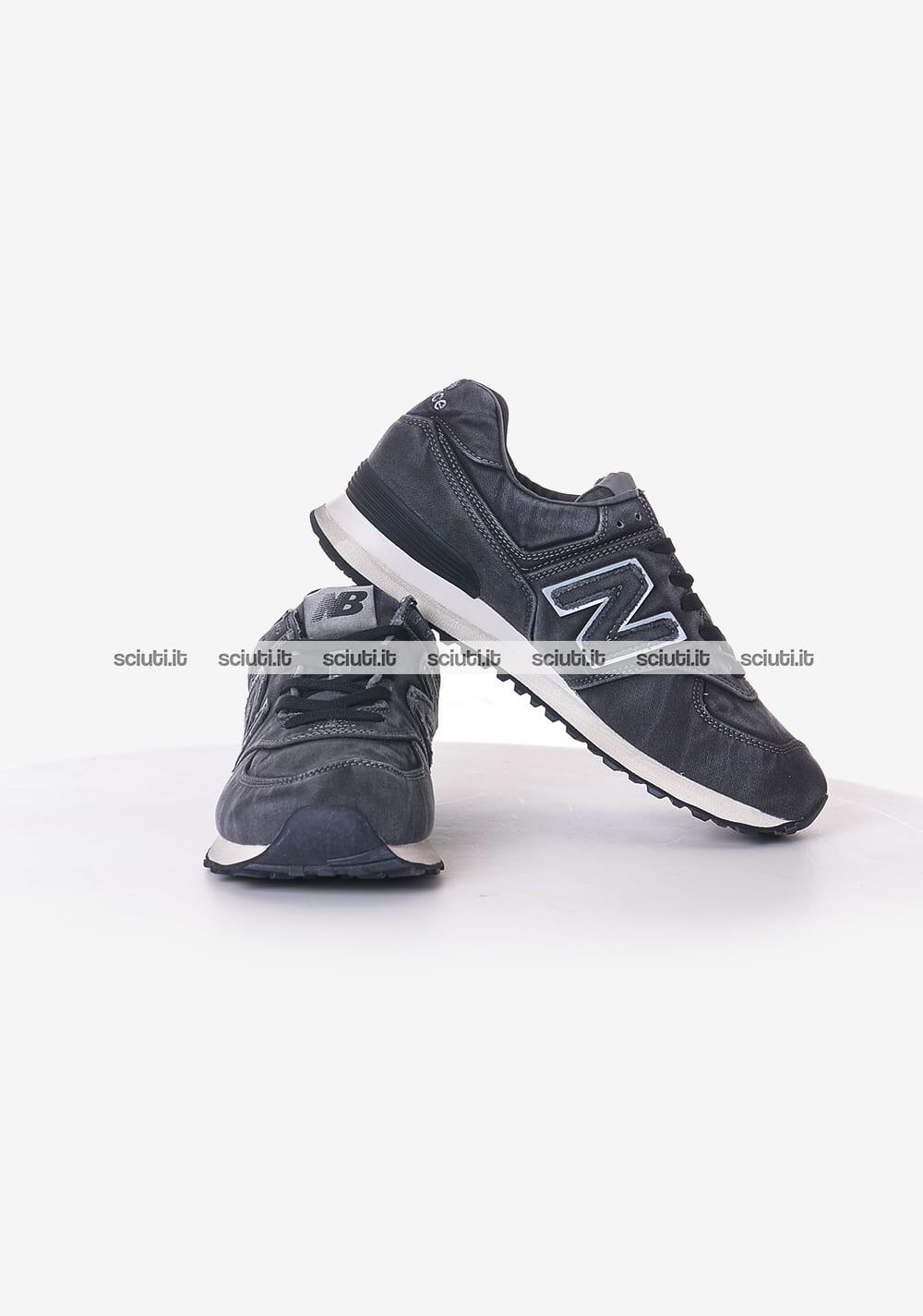 scarpe new balance uomo 574 nere