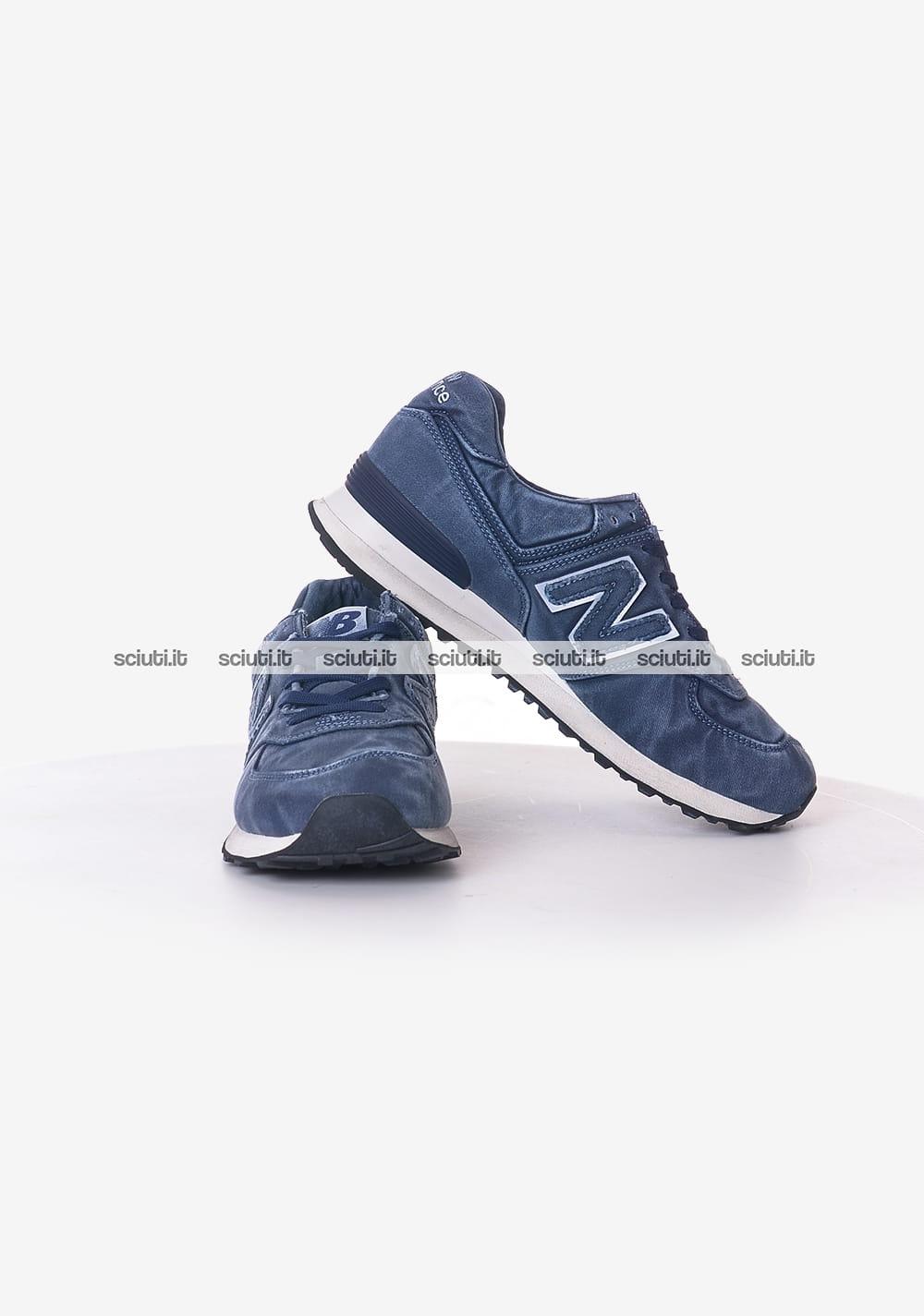 new balance uomo blu