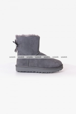 Stivaletto Ugg donna grigio Mini Bailey Bow