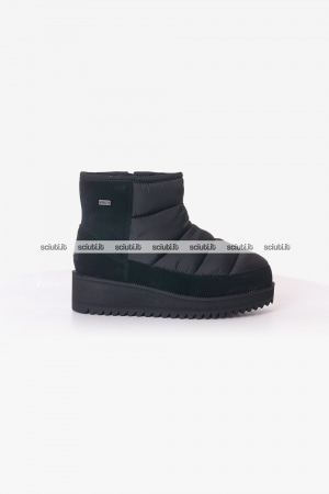 Stivaletto Ugg donna nero Ridge mini
