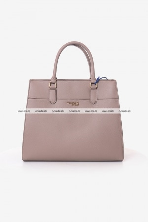 Borsa Trussardi donna cipria T Easy light grande