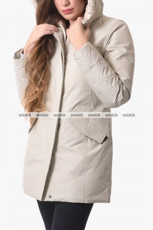 Parka Woolrich donna bianco Arctic Nf