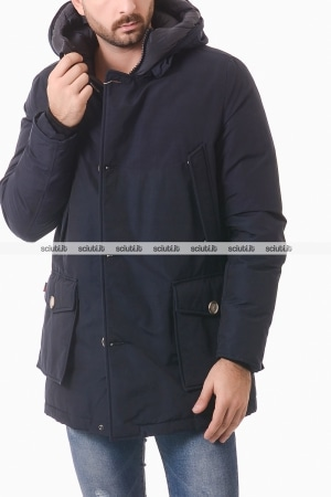 Parka Woolrich uomo blu scuro Arctic Nf