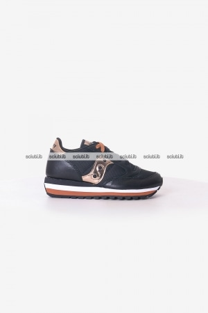Scarpe Saucony donna Jazz Triple nero oro Limited Edition
