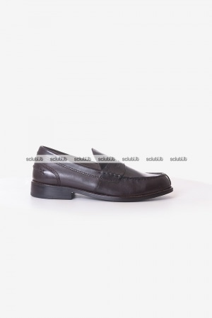 Mocassino Clarks uomo marrone scuro Beary Loafer in pelle